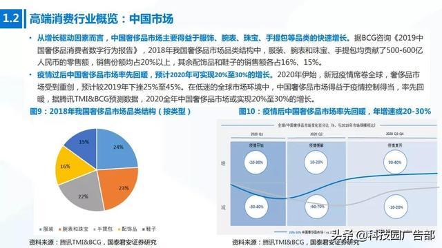 """020年中国高端消费品专题报告"""""""